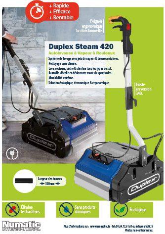 publicité bâtiment entretien novembre et décembre 2020 duplex steam 420