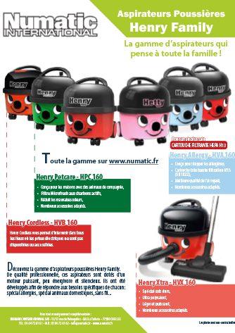 publicité LSA octobre 2020 gamme henry family aspirateur poussières