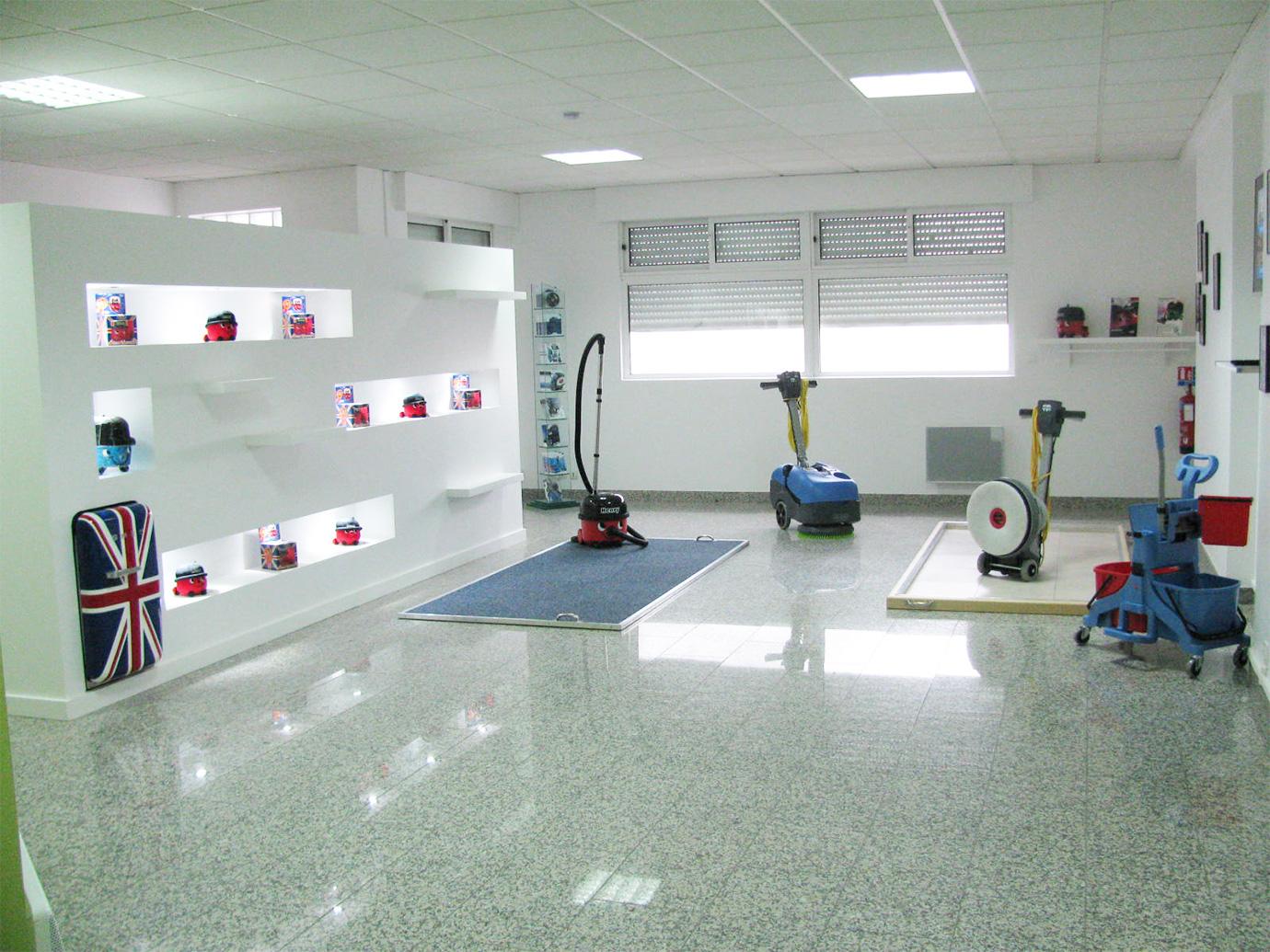 Salle de formations techniques et commerciales Numatic à Chelles