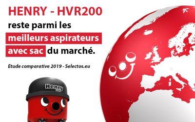 Henry – HVR200 toujours au sommet