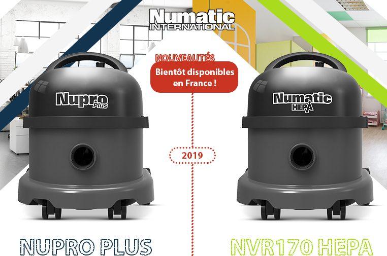 Nouveautés estivales 2019 – aspirateurs poussières