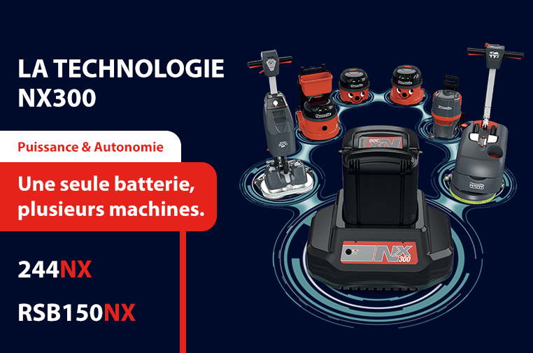 La technologie NX300 Numatic