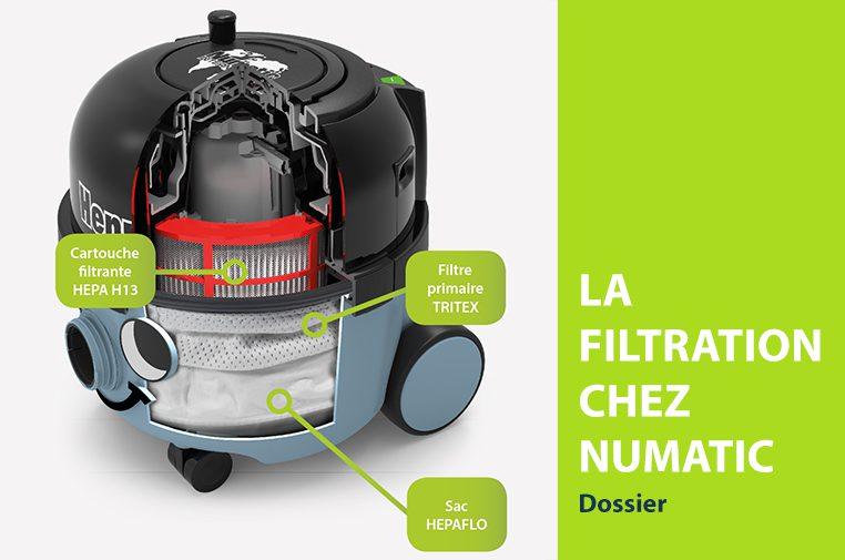 La filtration chez Numatic