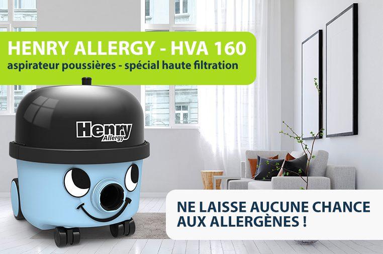 Stop aux allergènes avec Henry Allergy