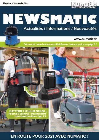 Magazine Newsmatic N°10 Janvier 2021 Numatic