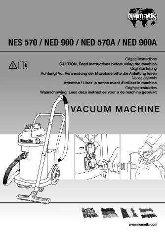 Notice d'utilisation NES570 / NED900 / NED570A / NED900A