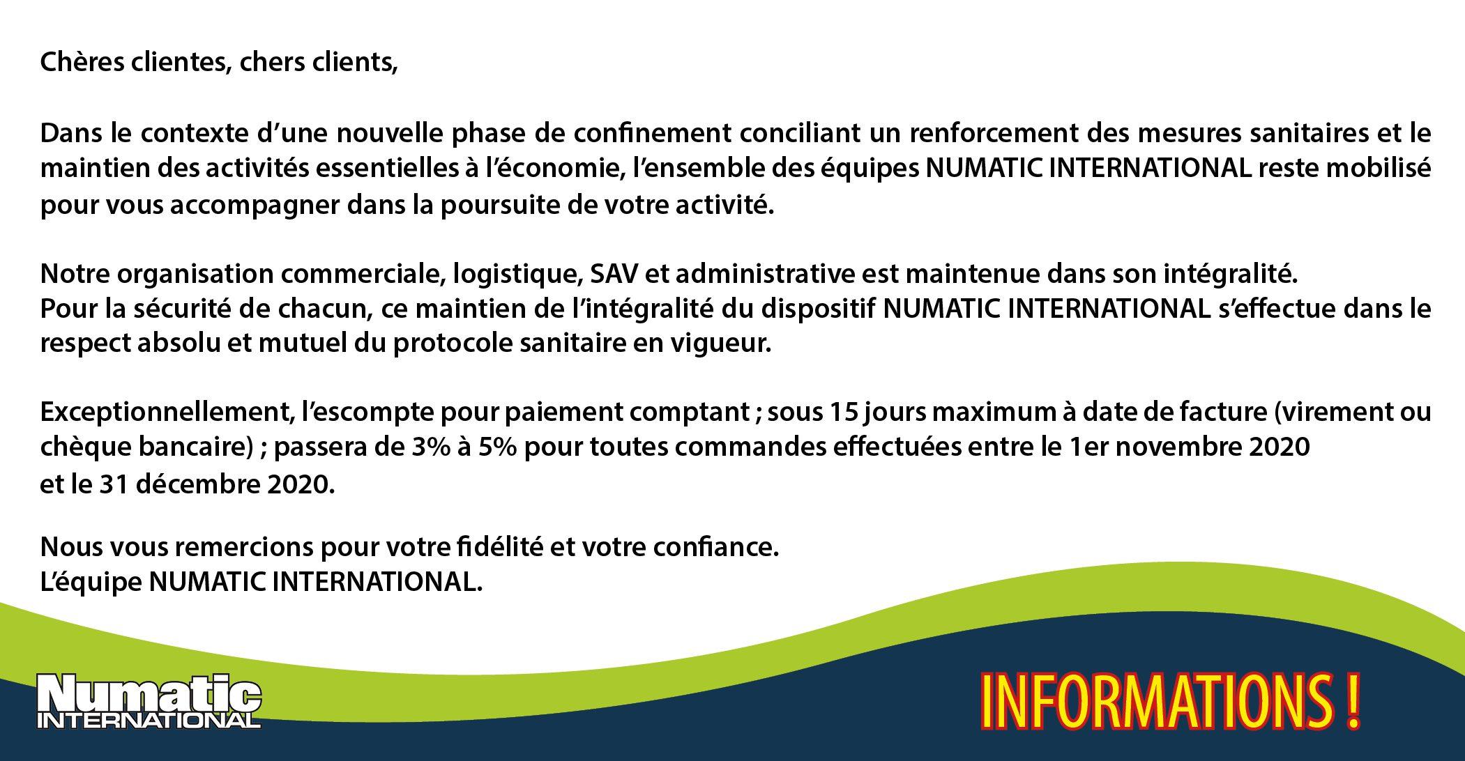 Informations Coronavirus reconfinement 2020