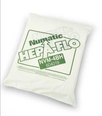 Jeu de 10 sacs HEPAFLO 40L pour aspirateurs Numatic